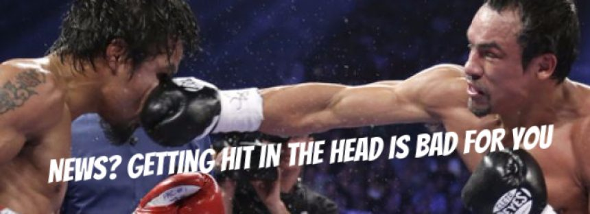 Getting Hit in the Head Increases Suicide Risk