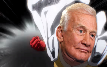 Buzz Aldrin Falcon Punched a Conspiracy Theorist