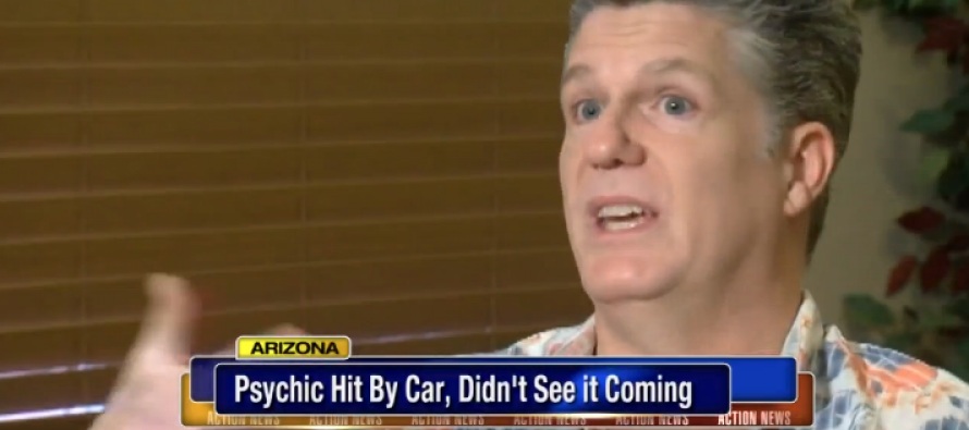 Psychic Who Was Hit By Car Inside a Restaurant Didn't See it Coming