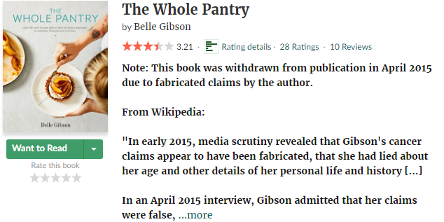 the whole pantry belle gibson goodreads