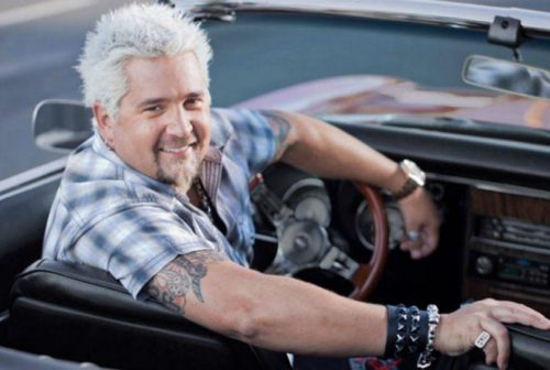 Guy Fieri on the way to Stupidtown