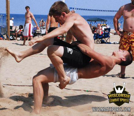 NJ Beach Wrestling