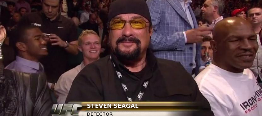 Steven Seagal is now a Russian