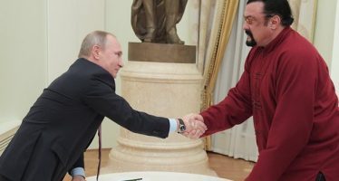 Steven Seagal Banned from Ukraine for Security Reasons