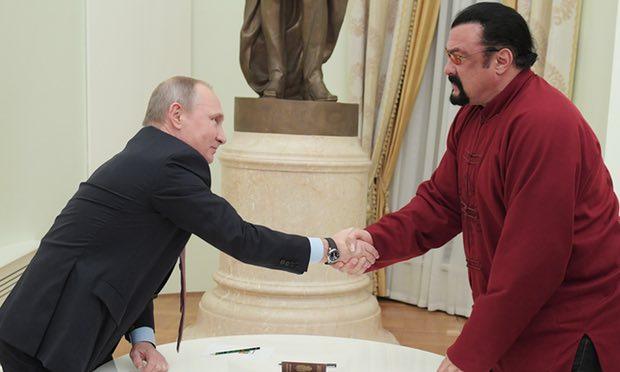 Seagal and Putin