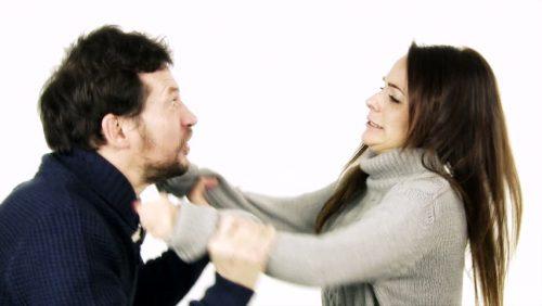 Couple argues