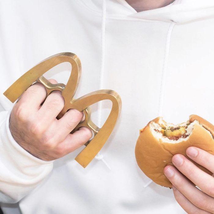 McDonald's Brass Knuckles