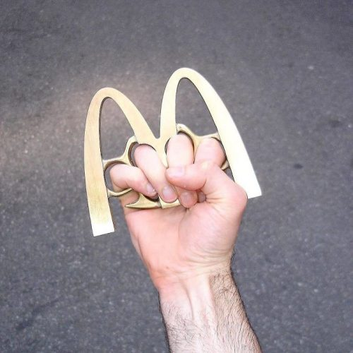 McDonald's Brass Knuckles