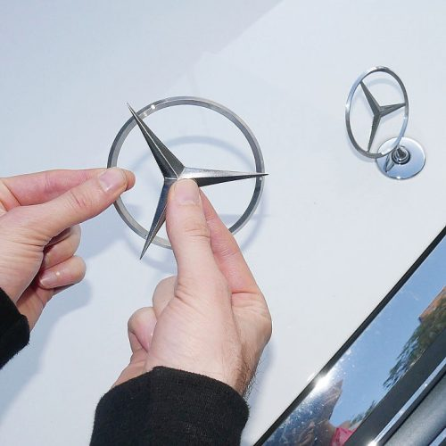 Mercedes Ninja Star