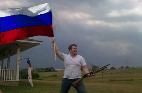 Russian-Flag-Waving American