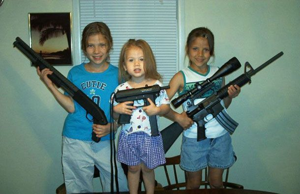 Children with guns