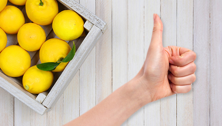 Lemons Thumbs Up