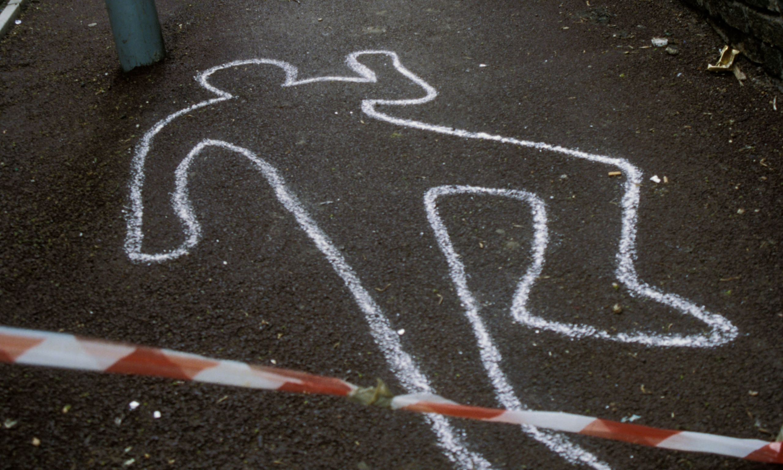 Chalk Outline Crime Scene