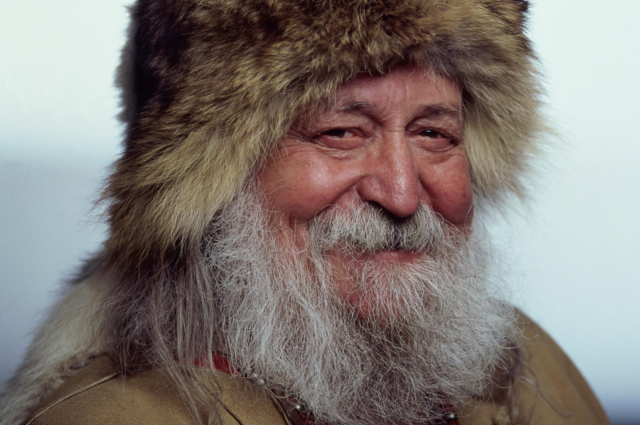 Inuit Man Smiling